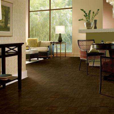 American Home Shade Hollow Oak 5/16 in. Thick x 12 in. Wide x 12 in. Length Hardwood Parquet Flooring (25 sq. ft./case)