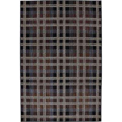 Billings Black 3 ft. 6 in. x 5 ft. 6 in. Accent Rug