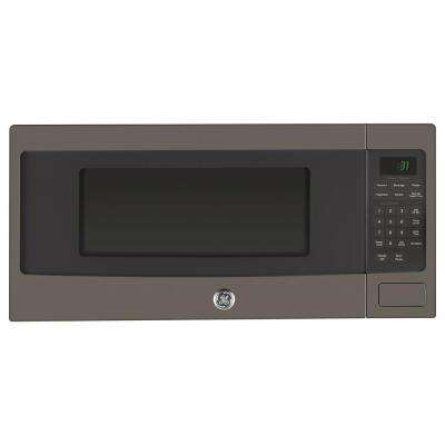 1.1 cu. ft. Countertop Microwave Oven in Slate