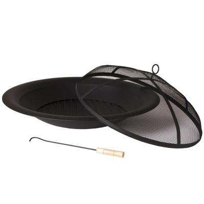 35 in. Round Fire Pit Insert