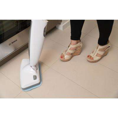 SAG403 Powerful Disinfecting Floor Steam Mop with Vibration 410 ML 1200-Watt, 2 Mop Pads Included in Grey