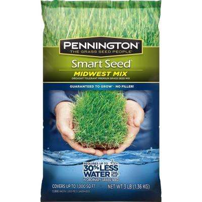 Smart Seed 3 lb. Midwest Mix Grass Seed