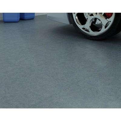 1.58 ft. x 1.58 ft. Granite FlooRx Precision Lock Utility Rubber Flooring (25 sq. ft./Pack)