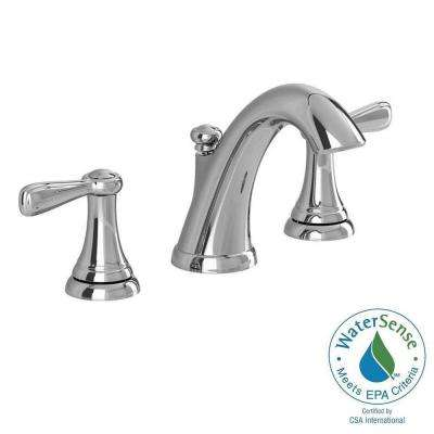 Marquette 8 in. Widespread 2-Handle High-Arc Bathroom Faucet in Polished Chrome