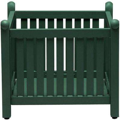 Spring Arbor Contract Hunter Metal Slat Planter