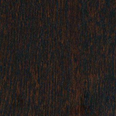 Wire Brushed Oak Coffee 3/8 in. Thick x 5 in. Wide x 47-1/4 in. Length Click Lock Hardwood Flooring (19.686 sq.ft./case)