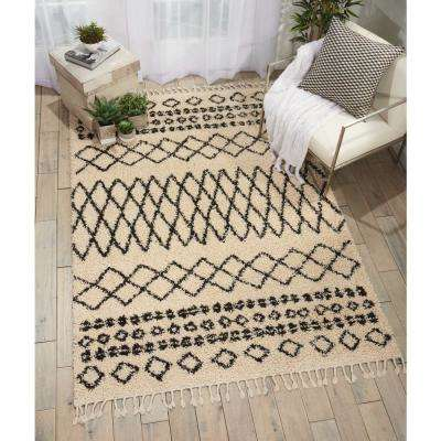 Moroccan Shag Cream 8 ft. x 11 ft. Area Rug
