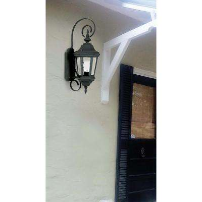 Estate Black Outdoor Small Wall-Mount Lantern