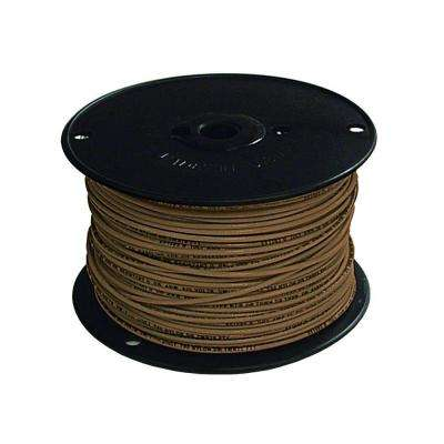 500 ft. 16 Brown Stranded TFFN Fixture Wire