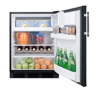 5.1 cu. ft. Mini Refrigerator in Black