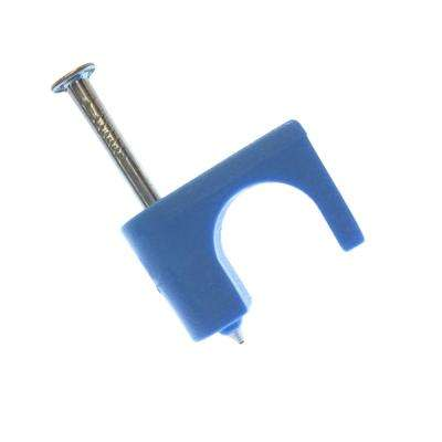 1/4 in. Staple Coax Blue (300-Pack) Case of 5