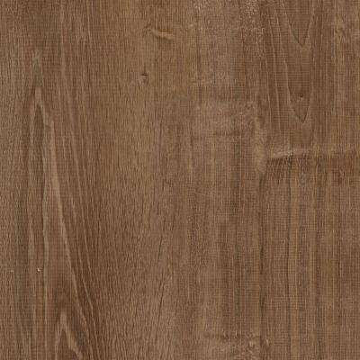 Smoked Oak Coffee Resilient Vinyl Plank Flooring - 4 in. x 4 in. Take Home Sample