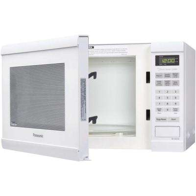 Family Size 1.2 cu. ft. 1200-Watt Countertop Microwave in White