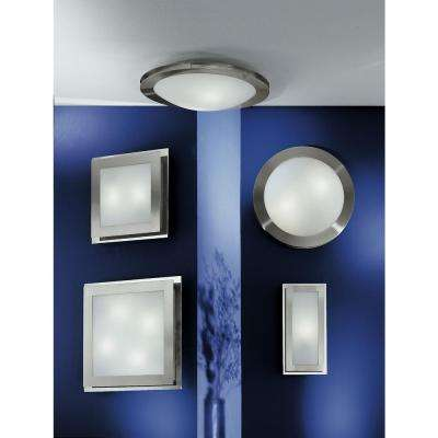 Eos 4-Light Matte Nickel Ceiling and Wall Surface Mount Light
