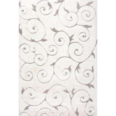 Maisha Cream 8 ft. x 10 ft. Area Rug