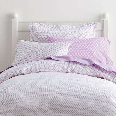 Swiss Dot Cotton Percale Duvet Cover