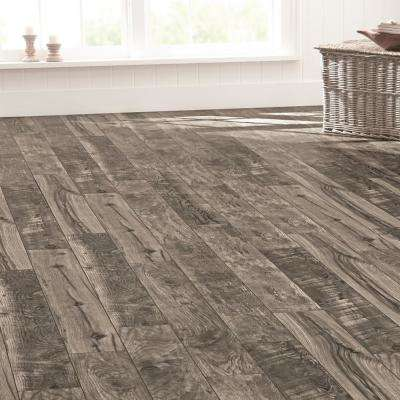 Cinder Wood Fusion 12 mm Thick x 6-1/8 in. Wide x 50-4/5 in. Length Laminate Flooring (17.44 sq. ft. / case)