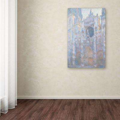 "22 in. x 32 in. ""Rouen Cathedral West Facade 1894"" Canvas Art"