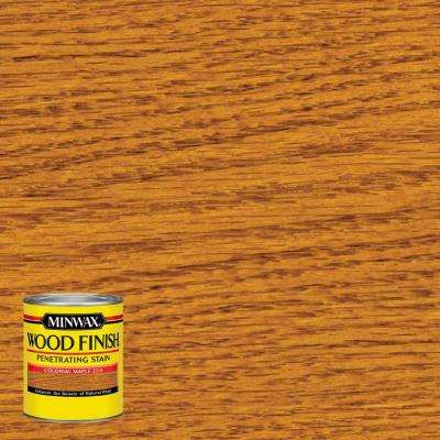 8 oz. Wood Finish Colonial Maple Oil-Based Interior Stain (4-Pack)