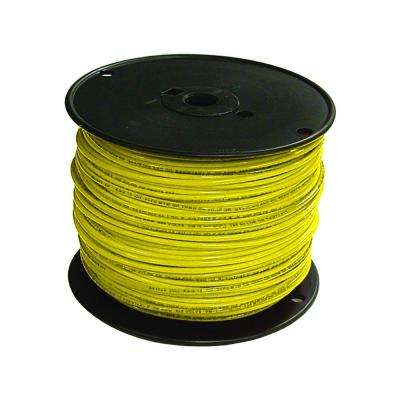 500 ft. 16 Yellow Stranded TFFN Fixture Wire -