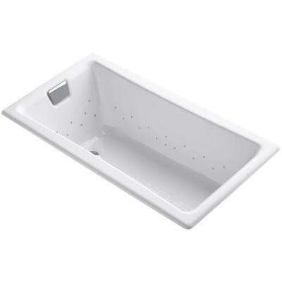 Tea-for-Two 5 ft. Whirlpool Bath Tub in White