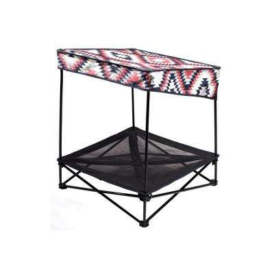 2 ft. W x 2 ft. D Small Instant Pet Shade with Mesh Bed in Southwestern Blanket Pattern