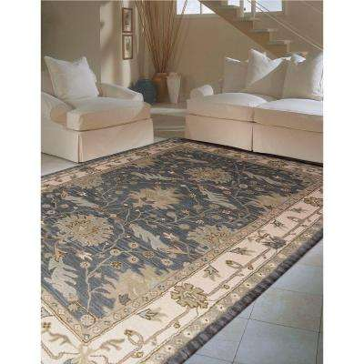 Oasis Blue 8 ft. x 10 ft. 6 in. Area Rug