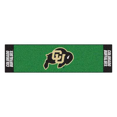 NCAA University of Colorado 1 ft. 6 in. x 6 ft. Indoor 1-Hole Golf Practice Putting Green
