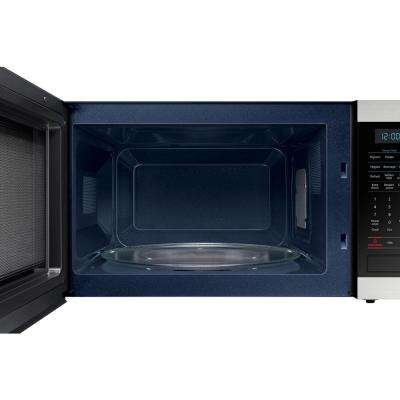 Countertop Microwave In Stainless Steel With Ceramic Enamel Interior