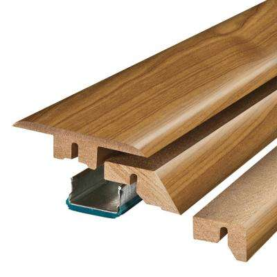 Applewood 3/4 in. Thick x 2-1/8 in. Wide x 78-3/4 in. Length Laminate 4-in-1 Molding