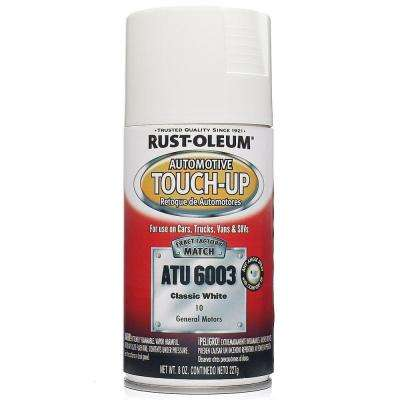 8 oz. Classic White Auto Touch-Up Spray (Case of 6)
