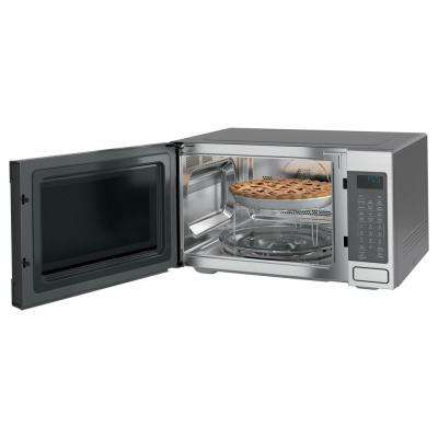Cafe 1.5 cu. ft. Countertop Convection Microwave Oven in Stainless Steel