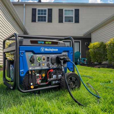 WGen5300DF 6,600/5,300 Watt Dual Fuel Portable Generator w/ Remote Start, RV and Transfer Switch Outlet for Home Backup