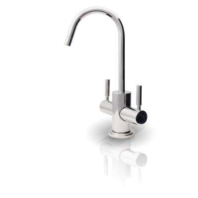 Westbrook 2-Handle Instant Hot and Cold Reverse Osmosis Drinking Water Dispenser Faucet in Chrome