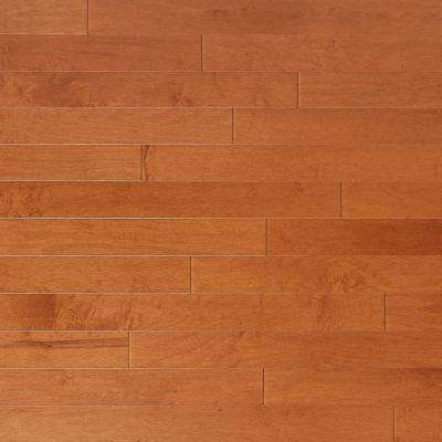 Vintage Maple Gilded 3/4 in. Thick x 4 in. Wide x Random Length Solid Real Hardwood Flooring (21 sq. ft. / case)