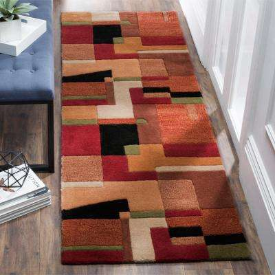 Rodeo Drive Multi 3 ft. x 16 ft. Runner Rug