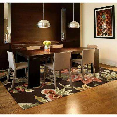 French Country Chocolate 5 ft. x 7 ft. 6in. Area Rug