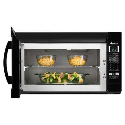 2.0 cu. ft. Over the Range Microwave in Black with Sensor Cooking