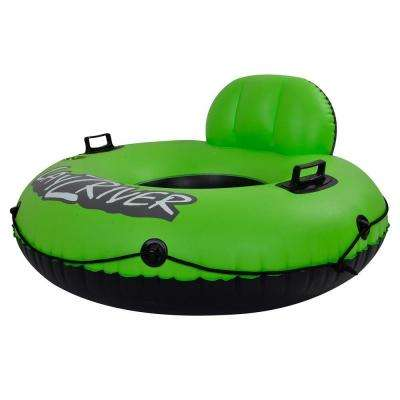 Blue Wave Lay-Z-River 49 inch Inflatable River Float Tube