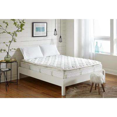 Oasis 13in. Plush Hybrid Pillow Top Mattress