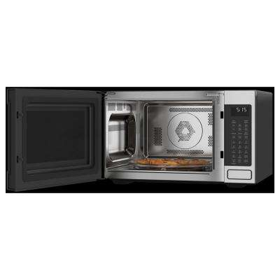 1.5 cu. Ft. Smart Countertop Convection Microwave Oven in Stainless Steel with Sensor Cooking