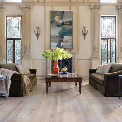 Hickory Crescent 3/8 in. T x 4 in. and 6 in. W x Varying L Engineered Click Hardwood Flooring (19.84 sq. ft. / case)