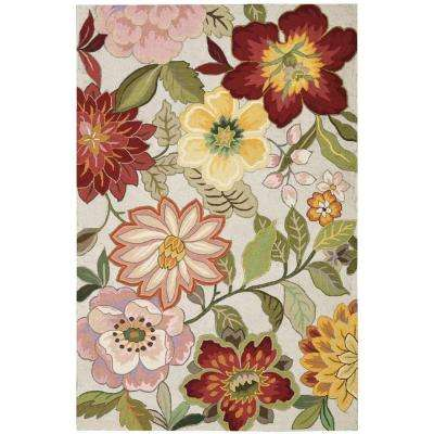Spring Blossom Ivory 8 ft. x 10 ft. 6 in. Area Rug