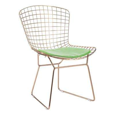 Green Mesh Wire Outdoor Chair Cushion
