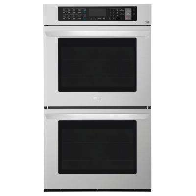 9.4 cu. ft. Double Wall Oven with ProBake Convection in Stainless Steel, EasyClean