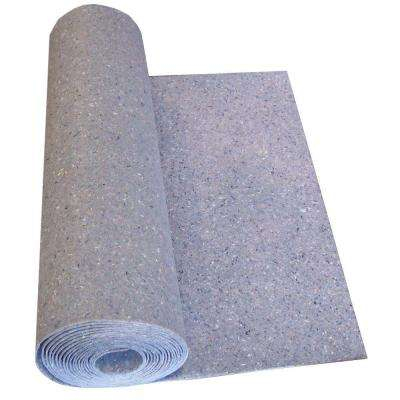 Insulayment 33 ft. 4 in. x 3 ft. x 1/8 in. Acoustical Recycled Fiber Underlayment
