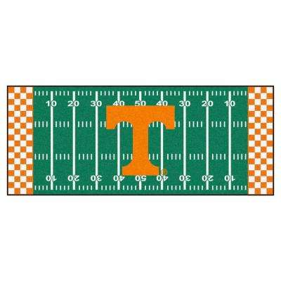 University of Tennessee 2 ft. 6 in. x 6 ft. Football Field Rug Runner