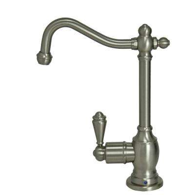 Single-Handle Standard Kitchen Faucet in Brushed Nickel