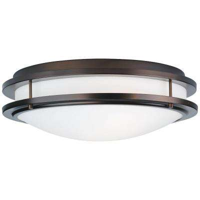Cambridge 2-Light Merlot Bronze Ceiling Fixture