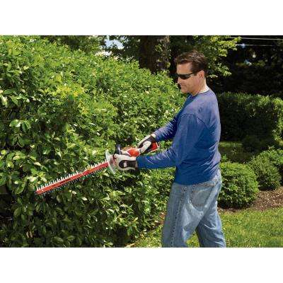 24 in. 40-Volt MAX Lithium-Ion Cordless Hedge Trimmer w/ (1) 1.5 Ah Battery and Charger